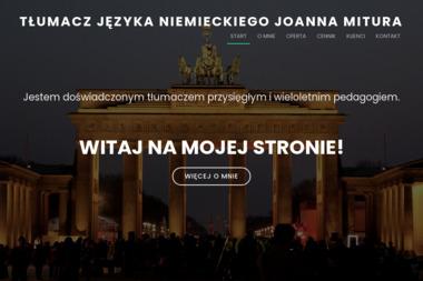 Tłumacz przysięgły języka niemieckiego Joanna Mitura - Tłumacze Lublin