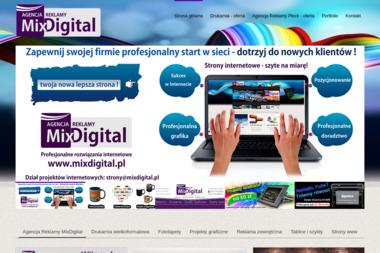 Agencja Reklamy MixDigital - Ulotki Biała