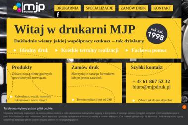 Mjp Drukarnia Wydawnictwo Maria Poterska - Druk wielkoformatowy Poznań