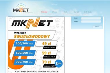 MK-NET. Strony internetowe, systemy informatyczne - Strony WWW Łask