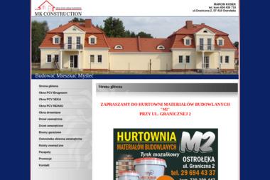 MK CONSTRUCTION - Budowanie Domów Ostrołęka