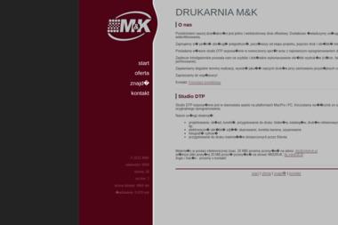 PHU M&K Marcin Szczepański Katarzyna Chmielińska S.C. - Drukarnia Nidzica