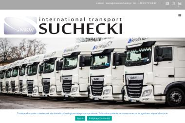 Mkw Suchecki Sp. z o.o. - Firma transportowa Ostrołęka
