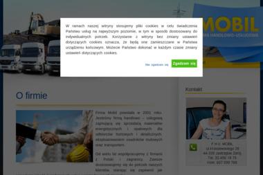 Firma Handlowo-Usługowa Mobil - Skład opału Wodzisław Śląski