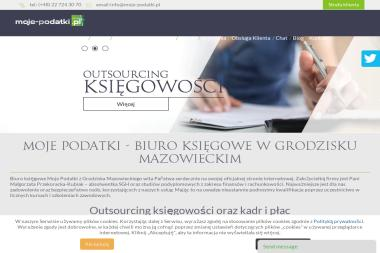 Moje-Podatki.pl. Biuro Rachunkowe - Usługi Księgowe Grodzisk Mazowiecki