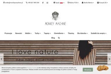 Monkey Machine design store - Projektowanie wnętrz Syców