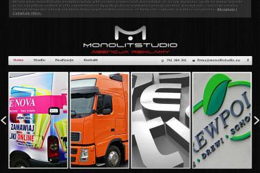 Agencja Reklamy Monolit Studio. Strony internetowe, projektowanie graficzne - Banery Internetowe Rzeszów
