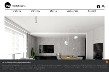 Montari Pracownia Projektowania Wnętrz i Grafiki - Adaptacja Projektu Typowego Kościerzyna