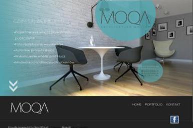 Moqa Projektowanie Wnętrz - Projekty Domów Jednorodzinnych Konstantynów Łódzki