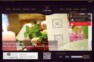 Motel & Restauracja Zajazd Zodiak II - Firma Gastronomiczna Szałsza