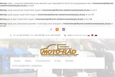 Moto-Rad Auto-Komis. Komis samochodowy, samochody używane, sprzedaż samochodów używanych - Leasing Na Auto Bilcza