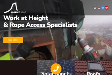 Mount Jump Maciej Jusianiec. Usługi wysokościowe - Elewacje Słupsk