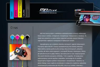 MR Print. Druk wielkoformatowy, reklama - Ulotki Siedlce
