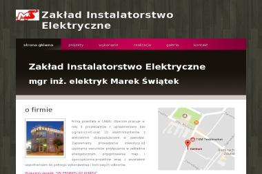 Zakład Instalatorstwo Elektryczne Marek Świątek - Elektryk Zduńska Wola