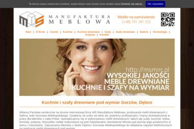 Ms Manufaktura Meblowa Sawicki Maciej - Stolarz Dębno