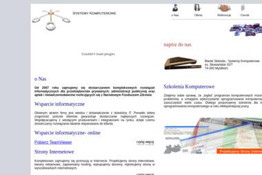 Systemy Komputerowe. Marek Słoboda - Strony internetowe Myślibórz