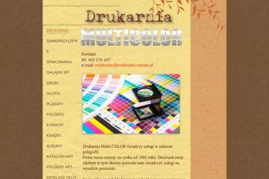 Multi-Color S.C Lubański Andrzej, Lubański Dariusz - Drukowanie Ulotek Radom