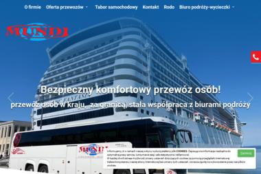 Mundi Przewóz Osób Paweł Kocjan. Transport osobowy, wynajem busów i autobusów - Przewóz osób Krzelków