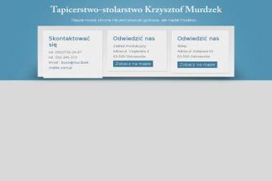 Tapicerstwo Stolarstwo Ogólne Krzysztof Murdzek - Okna PCV Ostrzeszów