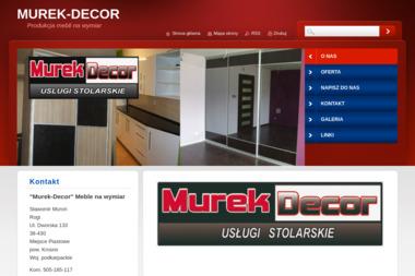 Murek Decor. Meble kuchenne, kuchnie - Meble Kuchenne Rogi