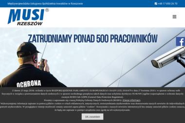 Międzywojewódzka Usługowa Spółdzielnia Inwalidów - Agencja ochrony Rzeszów