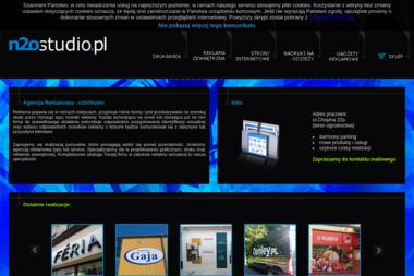 Agencja Reklamowa: N2Ostudio. Reklama - Wydruk Ulotek Zielona Góra