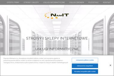 NamIT Usługi Informatyczne - Agencja interaktywna Namysłów