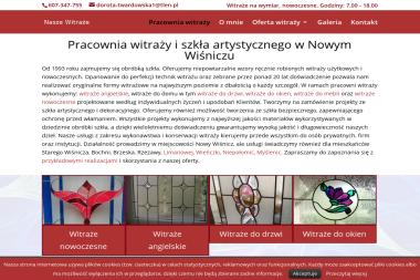 Zakład Usług Szklarskich Twardowski Andrzej - Szklarz Nowy Wiśnicz