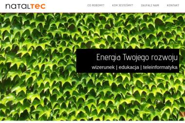 Nataltec. Projekty logo, tworzenie stron www - Strony WWW Radzionków