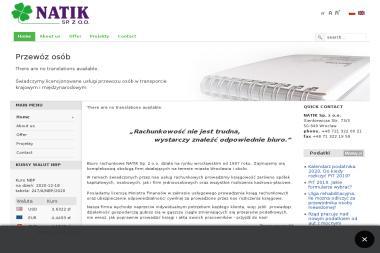 Natik Sp. z o.o. - Rozliczanie Podatku Wrocław