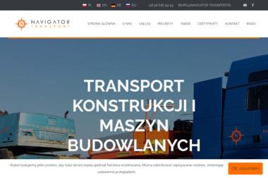 Navigator S.C.Transport, spedycja. - Transport międzynarodowy Reda