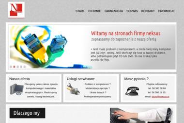 Neksus S.J. Piotr Ścibisz, Leszek Pietrzycki - Firmy informatyczne i telekomunikacyjne Gdańsk