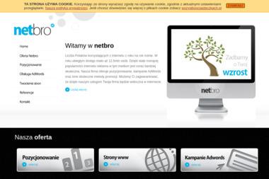 Netbro Dawid Brandt - Usługi Marketingu Internetowego Police