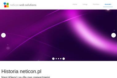 Neticon Web Solutions. Strony internetowe, grafika komputerowa, hosting - Strony internetowe Dąbrowa Górnicza