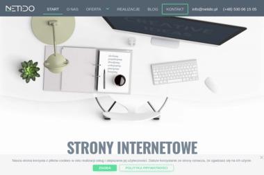 Netido. Agencja interaktywna, projektowanie stron internetowych - Drukarnia Siepraw
