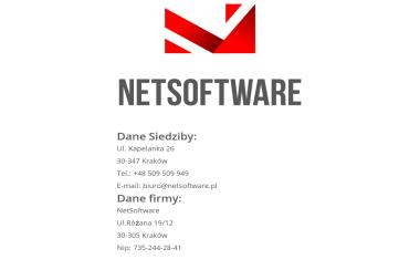Netsoftware Sp. z o.o.ą - Serwis komputerowy Ostrów Wielkopolski