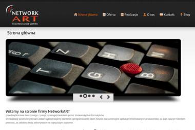 PHU NetworkART. Projektowanie stron internetowych, wykonanie stron internetowych - Serwis Laptopów Grobniki
