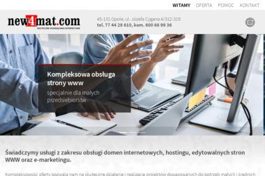 new4mat.com Sp.z o.o. - Pozycjonowanie stron Opole