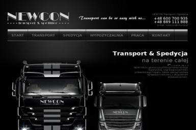 Newcon Sp. z o.o. - Transport ciężarowy krajowy Opole