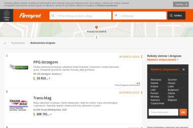 Nex Bud Jacek Waśko. Usługi brukarskie, roboty ziemne - Budowa dróg Kobylanka