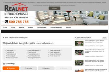 Biuro Nieruchomości REALNET - Strony internetowe Busko-Zdrój