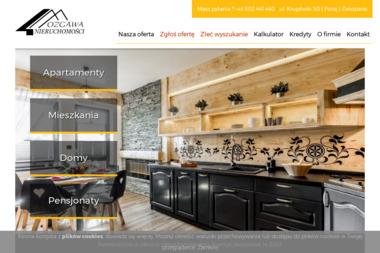 Nieruchomości Mozgawa - Agencja nieruchomości Zakopane