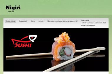 Restauracja Sushi Bar Nigiri - Branża Gastronomiczna Kobyłka