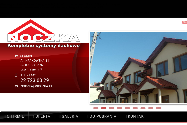 Noczka. Kompletne systemy dachowe - Okna PCV Płońsk