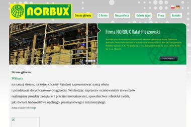 Norbux Rafał Pleszewski - Budownictwo Inżynieryjne Bełchatów