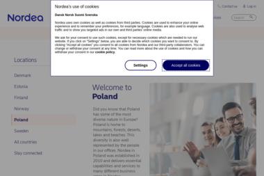 Nordea Bank 1 Placówka - Kredyt hipoteczny Sosnowiec