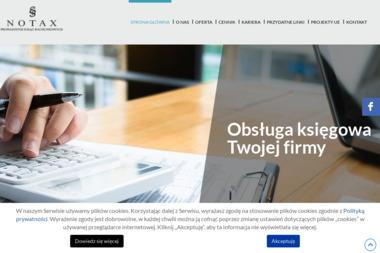 Notax Prowadzenie Ksiąg Rachunkowych Tomasz Stachnik Spółka Jawna - Usługi finansowe Limanowa