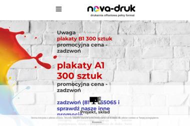 Nova-Druk s.c. Drukarnia Offsetowa - Ulotki Lublin