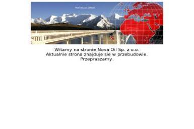 Nova Oil Sp. z o.o. Olej opałowy, ekoterm - Olej Grzewczy Warszawa