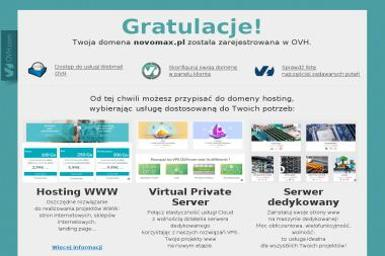 Novomax. Usługi informatyczne, serwis komputerowy - Agencja interaktywna Łodygowice